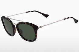 Calvin Klein Damen Sonnenbrille » CKJ813S«, schwarz, 246 - schwarz/grün