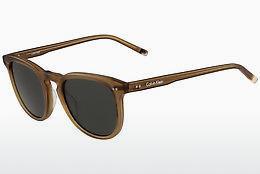 Calvin Klein Damen Sonnenbrille » CK1231S«, grau, 669 - grau/braun