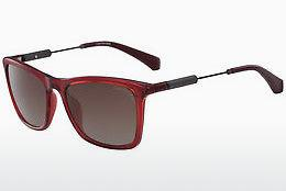 Calvin Klein Damen Sonnenbrille » CK3204S«, rot, 604 - rot/schwarz