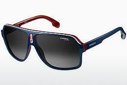 Carrera Eyewear Herren Sonnenbrille » CARRERA 133/S«, schwarz, 2M2/HA - schwarz/braun