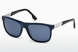Diesel Herren Sonnenbrille » DL0250«, blau, 90U - blau/rot
