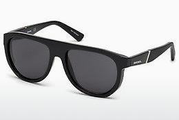 Diesel Herren Sonnenbrille » DL0254«, schwarz, 01A - schwarz/grau