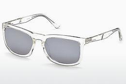 Diesel Sonnenbrille » DL0264«, weiß, 26Q - weiß/grün