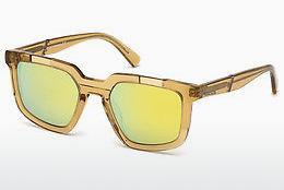 Diesel Herren Sonnenbrille » DL0271«, grau, 20A - grau/grau
