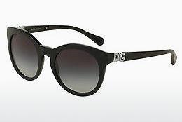 DOLCE & GABBANA Dolce & Gabbana Damen Sonnenbrille » DG4269F«, schwarz, 501/8G - schwarz/grau