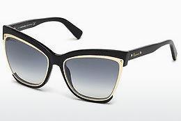 Dsquared2 Damen Sonnenbrille » DQ0290«, schwarz, 01B - schwarz/grau