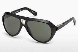Dsquared2 Sonnenbrille » DQ0255«, grün, 96J - grün/braun