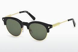 Dsquared2 Sonnenbrille » DQ0284«, schwarz, 01N - schwarz/grün
