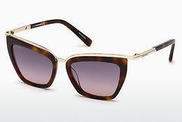 Dsquared2 Damen Sonnenbrille » DQ0289«, braun, 52B - braun/grau