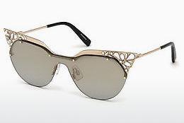 Dsquared2 Damen Sonnenbrille » DQ0298«, braun, 52N - braun/grün