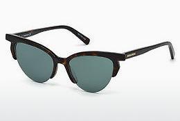 Dsquared2 Damen Sonnenbrille » DQ0289«, braun, 62W - braun/blau