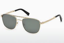 Ermenegildo Zegna Herren Sonnenbrille » EZ0105«, braun, 37X - braun/blau