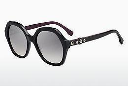 FENDI Fendi Herren Sonnenbrille » FF M0013/S«, schwarz, 807/KU - schwarz/blau
