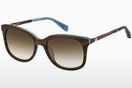 Fossil Damen Sonnenbrille » FOS 3079/S«, braun, 4IN/HA - braun/braun