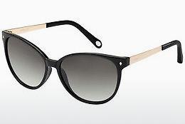 Fossil Herren Sonnenbrille » FOS 3060/S«, schwarz, 94X/E5 - schwarz/grau