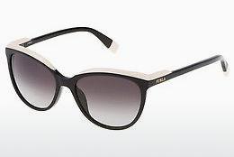 Furla Sonnenbrille » SU4933«, schwarz, 0700 - schwarz/grau