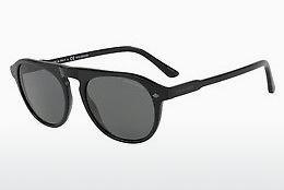 Giorgio Armani Herren Sonnenbrille » AR8097«, braun, 559431 - braun/grün