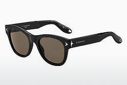 GIVENCHY Givenchy Herren Sonnenbrille » GV 7058/S«, schwarz, 807/M9 - schwarz/grau