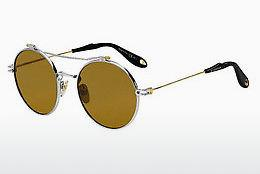 Sonnenbrille Givenchy GV 7079/S B1Z/70 - Silber, Gold
