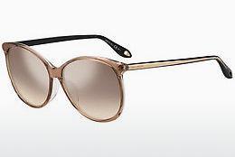 GIVENCHY Givenchy Damen Sonnenbrille » GV 7098/F/S«, schwarz, 807/UE - schwarz/ weiß