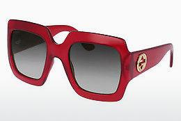 Sonnenbrille Gucci GG0053S 003 - Rot