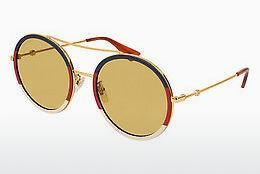 Sonnenbrille Gucci GG0061S 015 - Gold