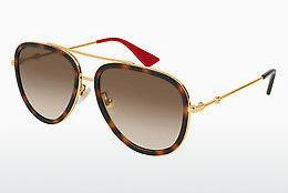 Sonnenbrille Gucci GG0062S 012 - Gold