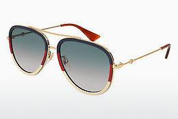 Sonnenbrille Gucci GG0062S 013 - Gold