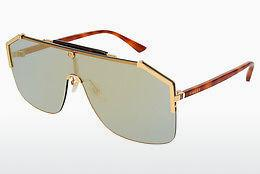 Sonnenbrille Gucci GG0291S 005 - Gold