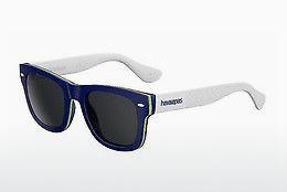 Havaianas Herren Sonnenbrille » BRASIL/M«, schwarz, 166/Y1 - schwarz/grau