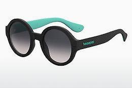 Havaianas Damen Sonnenbrille » FLORIPA/M«, schwarz, 2P6/9O - schwarz/grau