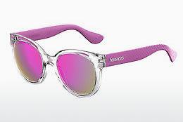 Havaianas Damen Sonnenbrille » NORONHA/M«, schwarz, QFU/LS - schwarz/grau