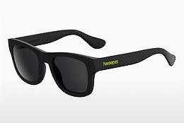 Havaianas Herren Sonnenbrille » BRASIL/L«, schwarz, 166/Y1 - schwarz/grau