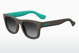 Havaianas Sonnenbrille » PARATY/XL«, schwarz, QFU/IR - schwarz/grau