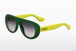 Havaianas Herren Sonnenbrille » BRASIL/L«, gelb, 1RN/Y1 - gelb/grau