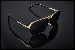 Sonnenbrille JB by Jerome Boateng (Limited Edition) (JBS102 1) - Schwarz, Gold