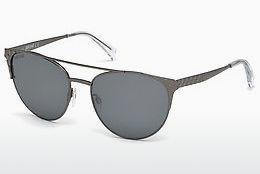 Just Cavalli Damen Sonnenbrille » JC756S«, schwarz, 04B - schwarz/grau