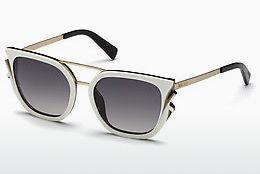 Just Cavalli Damen Sonnenbrille » JC758S«, grau, 08E - grau/braun