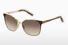 Max Mara Damen Sonnenbrille » MM PRISM IV«, gelb, GXV/JD - gelb/braun