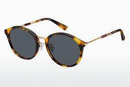 Max Mara Damen Sonnenbrille » MM WAND I«, braun, 09Q/KU - braun/blau