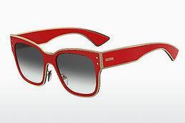 Moschino Damen Sonnenbrille » MOS014/F/S«, rot, C9A/UZ - rot/rot