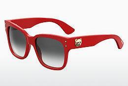 Moschino Damen Sonnenbrille » MOS009/S«, rot, C9A/9O - rot/grau