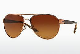 Sonnenbrille Oakley DISCLOSURE (OO4110 411005) - Rosa, Gold