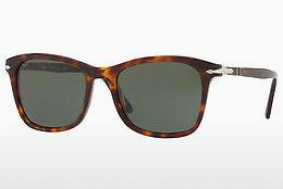 PERSOL Persol Damen Sonnenbrille » PO3198S«, braun, 24/31 - braun/grün