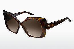 Pierre Cardin Damen Sonnenbrille » P.C. 8455/S«, rot, 7FF/HA - rot/braun