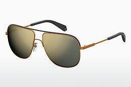 Polaroid Kinderbrillen Sonnenbrille » PLD 8024/S«, gelb, SCL/LM - gelb/ gold