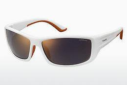 Sonnenbrille Polaroid Sports PLD 7011/S IXN/OZ - Weiß, Orange