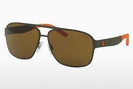 Polo Herren Sonnenbrille » PH4125«, schwarz, 526087 - schwarz/grau