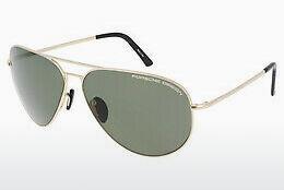 PORSCHE Design Porsche Design Herren Sonnenbrille » P8508«, silberfarben, C - silber/ silber