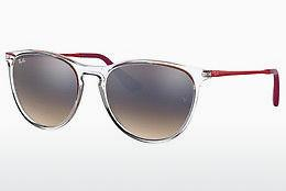 Sonnenbrille Ray-Ban Junior RJ9060S 7032B8 - Weiß, Transparent